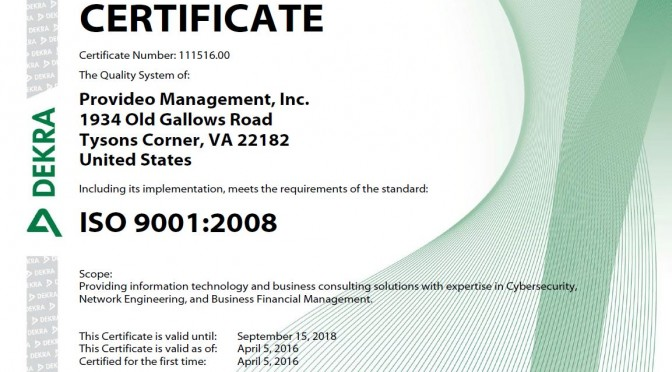 News Page - ISO 9001 04052016